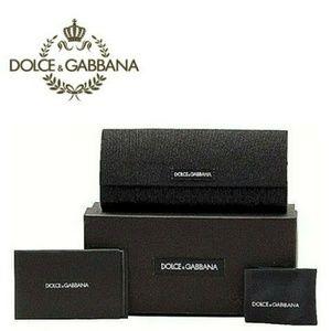 BNIB Dolce & Gabbana glasses case set